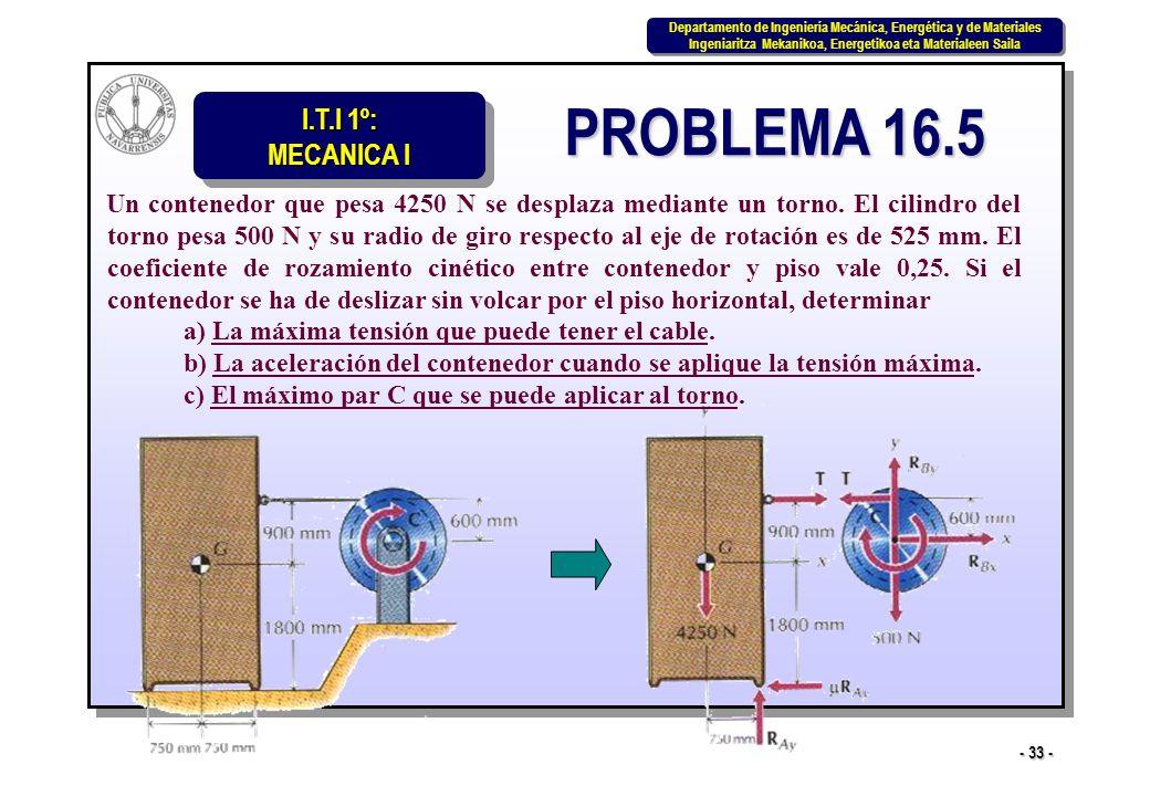 PROBLEMA 16.5