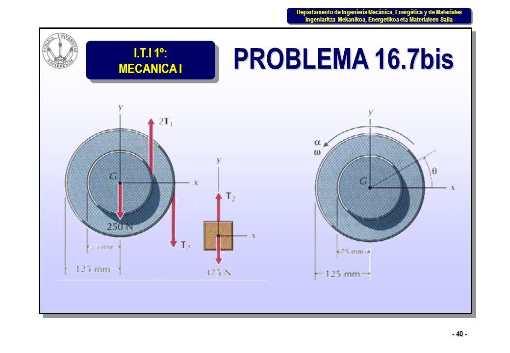 PROBLEMA 16.7bis