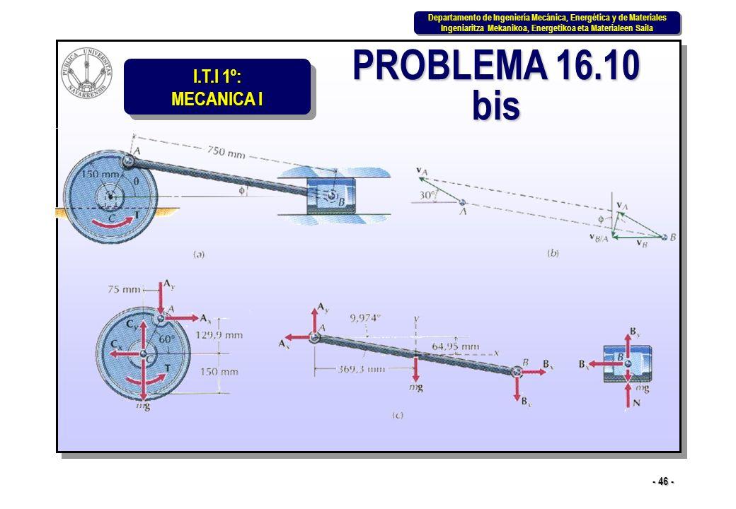 PROBLEMA 16.10 bis