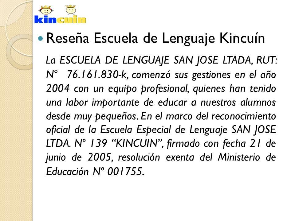 Reseña Escuela de Lenguaje Kincuín