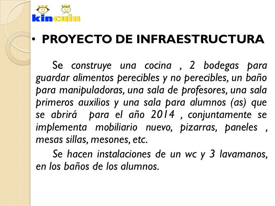 PROYECTO DE INFRAESTRUCTURA
