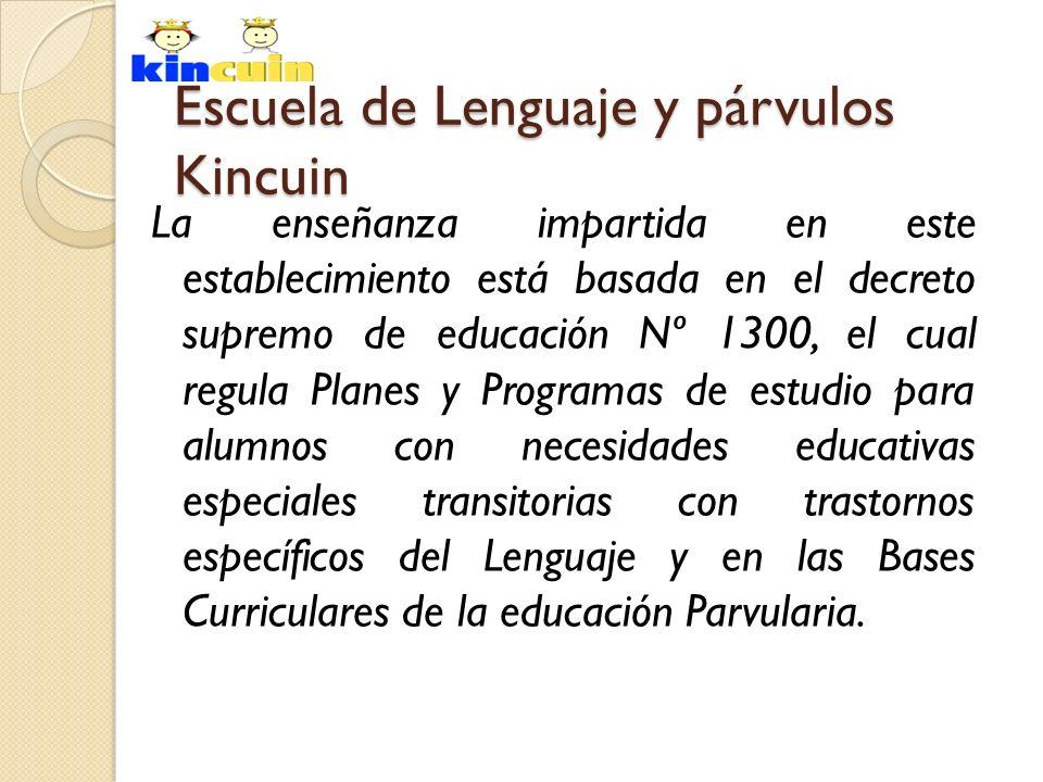 Escuela de Lenguaje y párvulos Kincuin