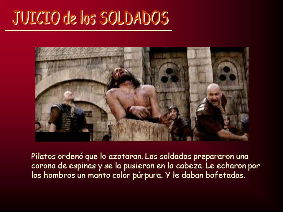JUICIO de los SOLDADOS
