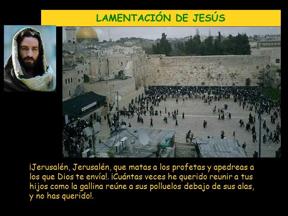 LAMENTACIÓN DE JESÚS