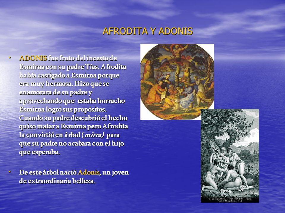 AFRODITA Y ADONIS