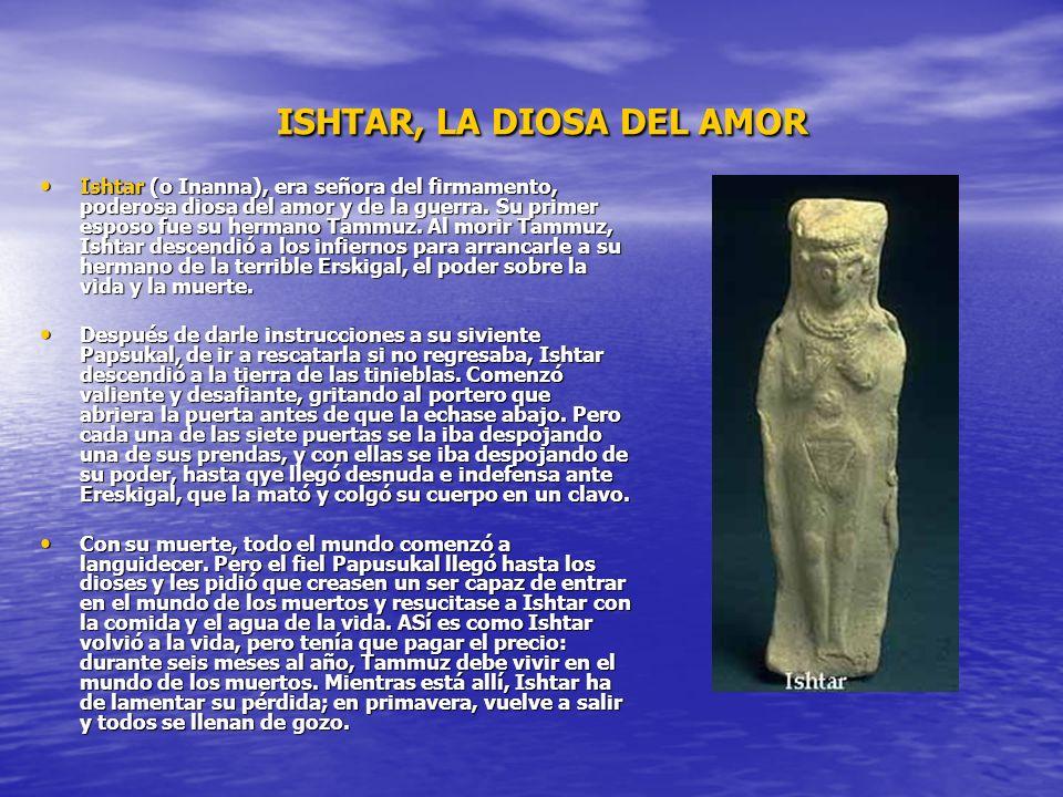 ISHTAR, LA DIOSA DEL AMOR
