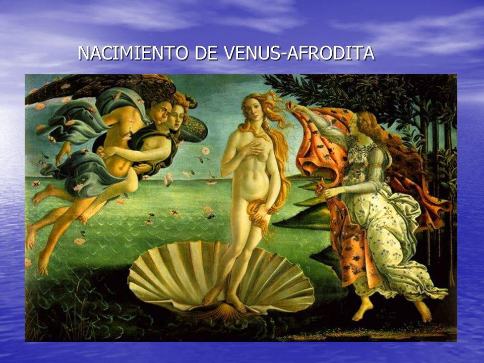 NACIMIENTO DE VENUS-AFRODITA
