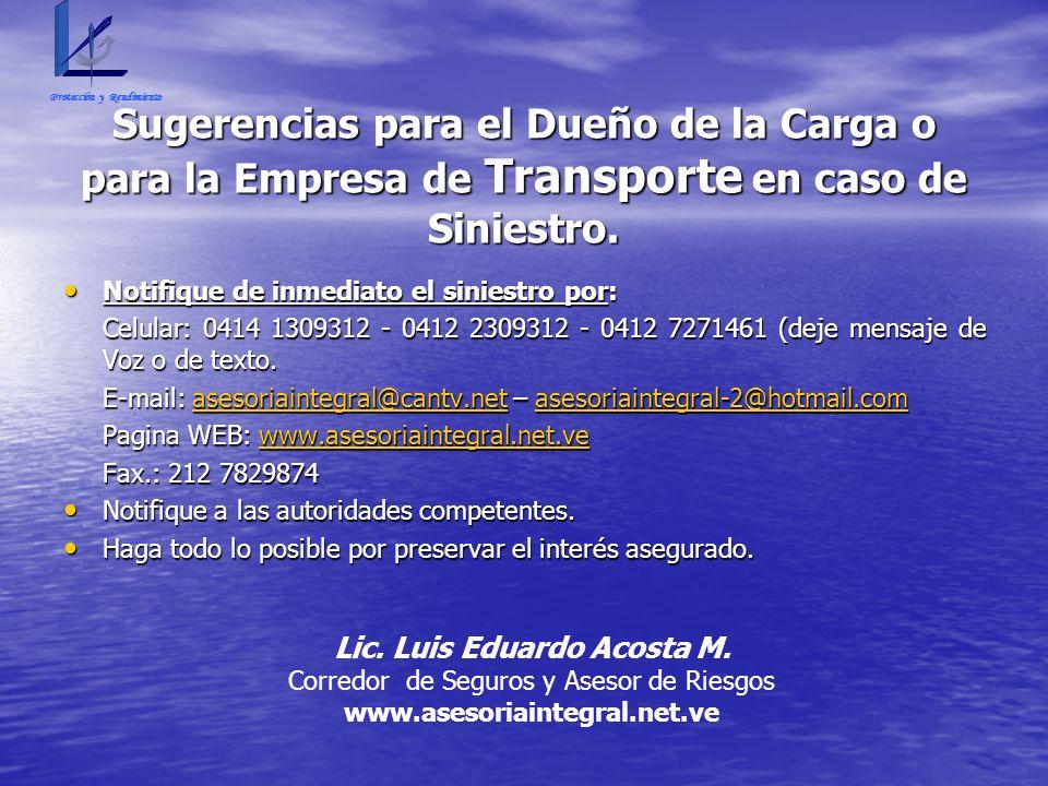 Lic. Luis Eduardo Acosta M.