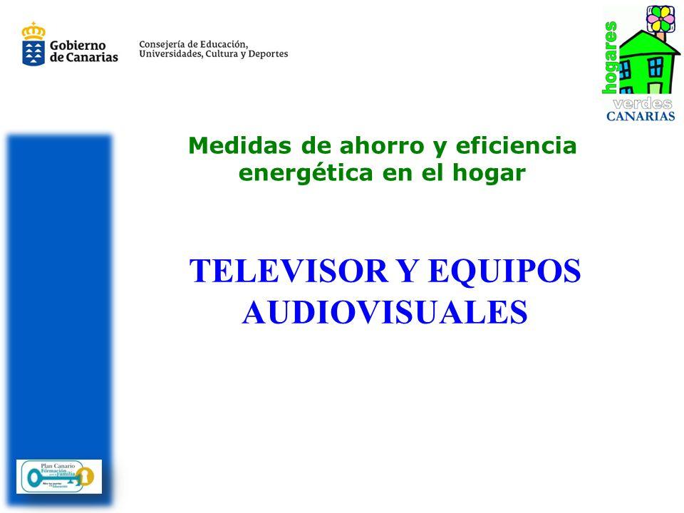 TELEVISOR Y EQUIPOS AUDIOVISUALES