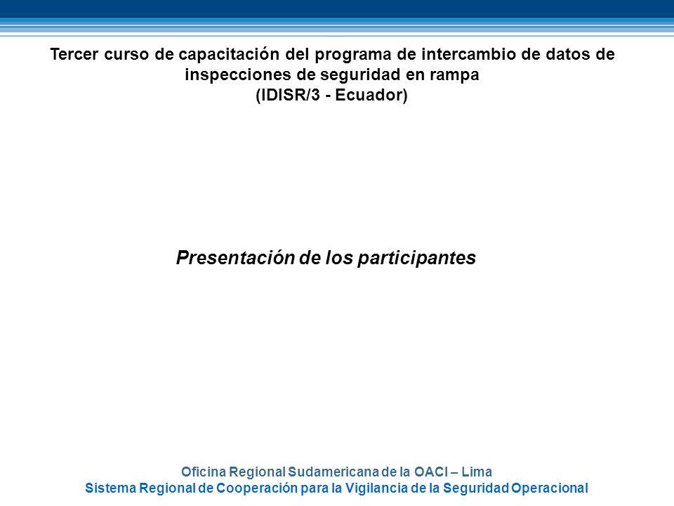 Oficina Regional Sudamericana de la OACI – Lima