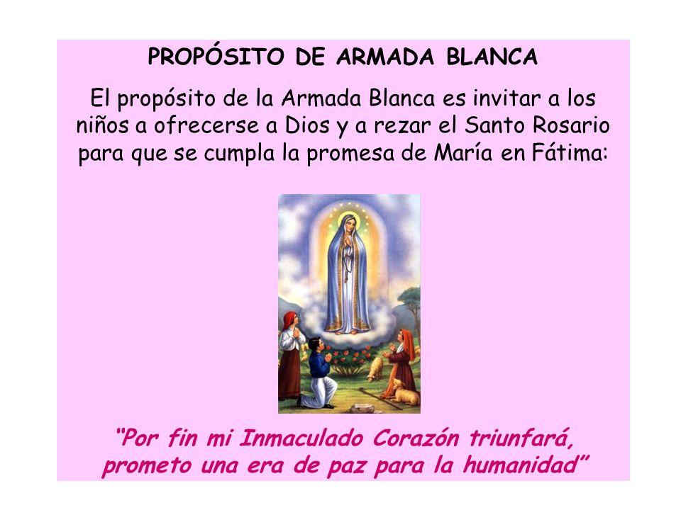 PROPÓSITO DE ARMADA BLANCA