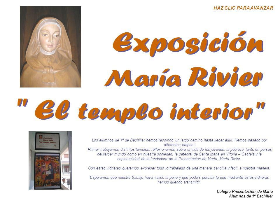 Exposición El templo interior María Rivier HAZ CLIC PARA AVANZAR