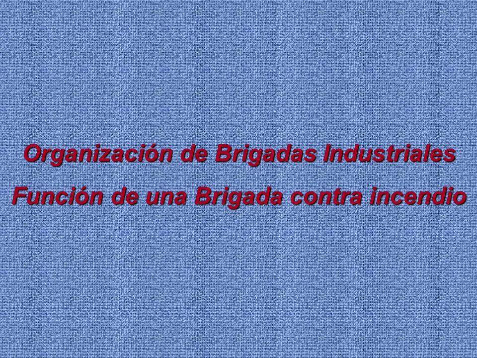 Organización de Brigadas Industriales