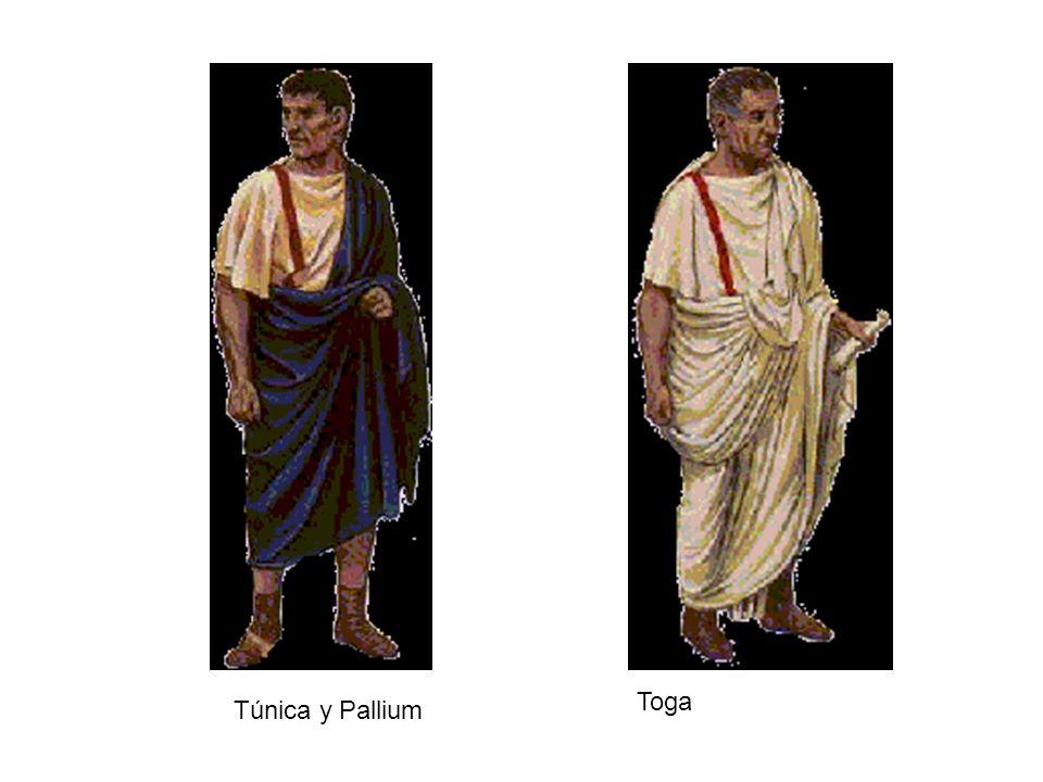 Toga Túnica y Pallium