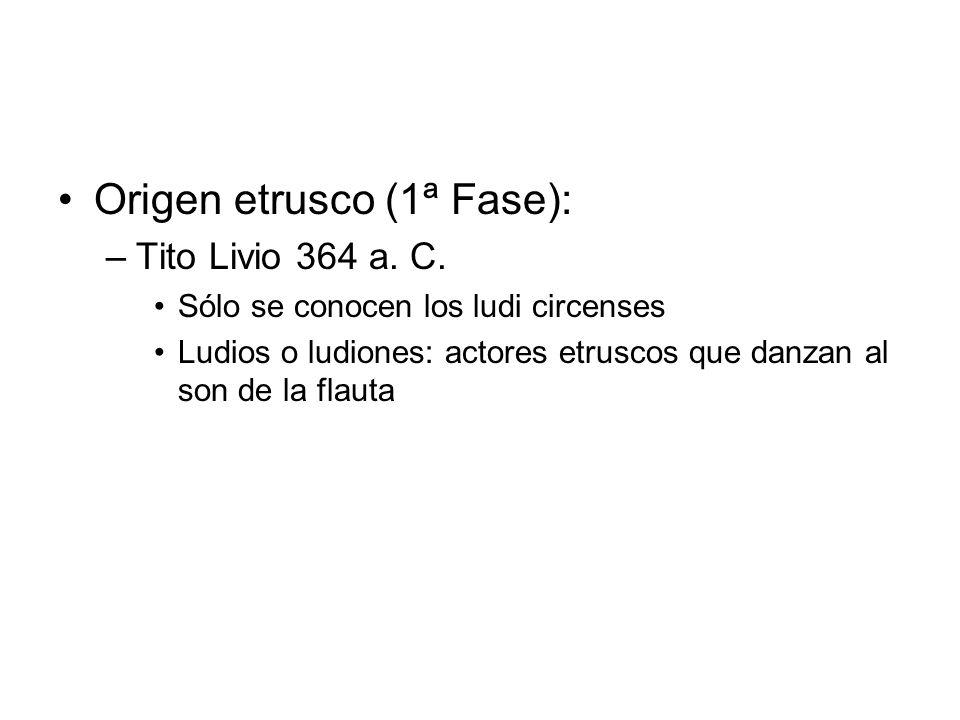 Origen etrusco (1ª Fase):