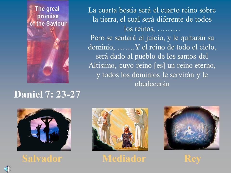 El reino viene Daniel 7:23-37