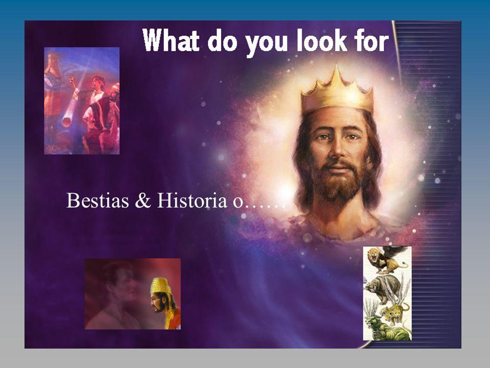 ¿Qué es lo que buscas Bestias & Historia o……