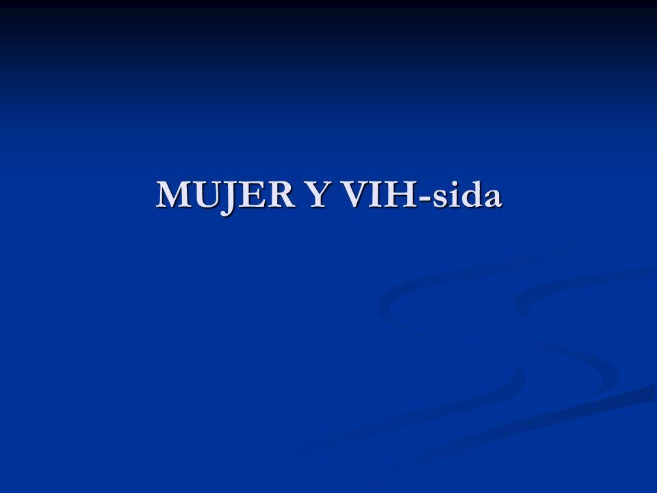 MUJER Y VIH-sida