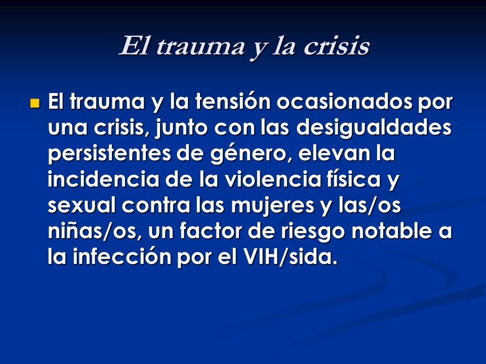 El trauma y la crisis