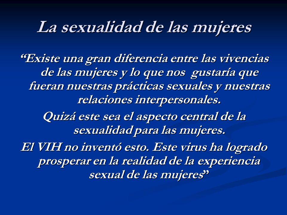 La sexualidad de las mujeres