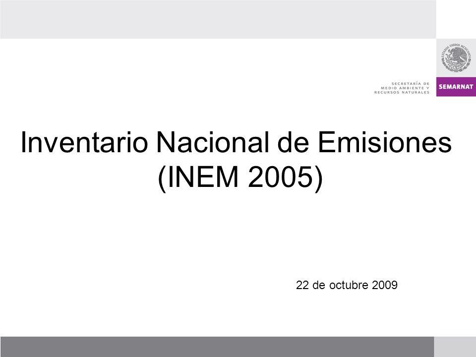 Inventario Nacional de Emisiones (INEM 2005)