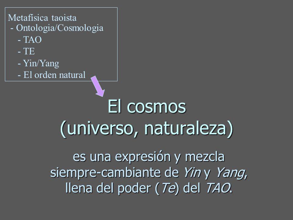El cosmos (universo, naturaleza)
