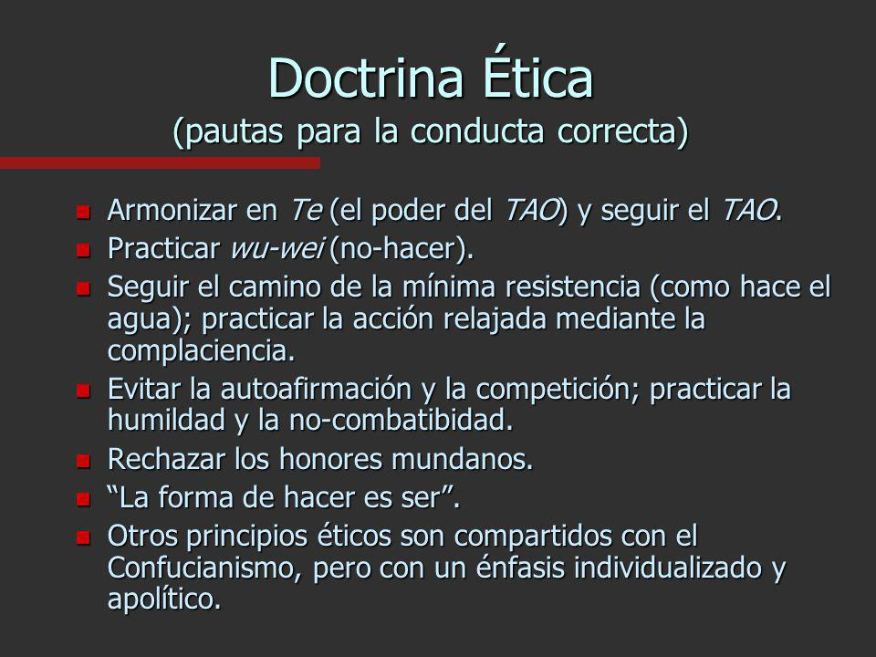 Doctrina Ética (pautas para la conducta correcta)