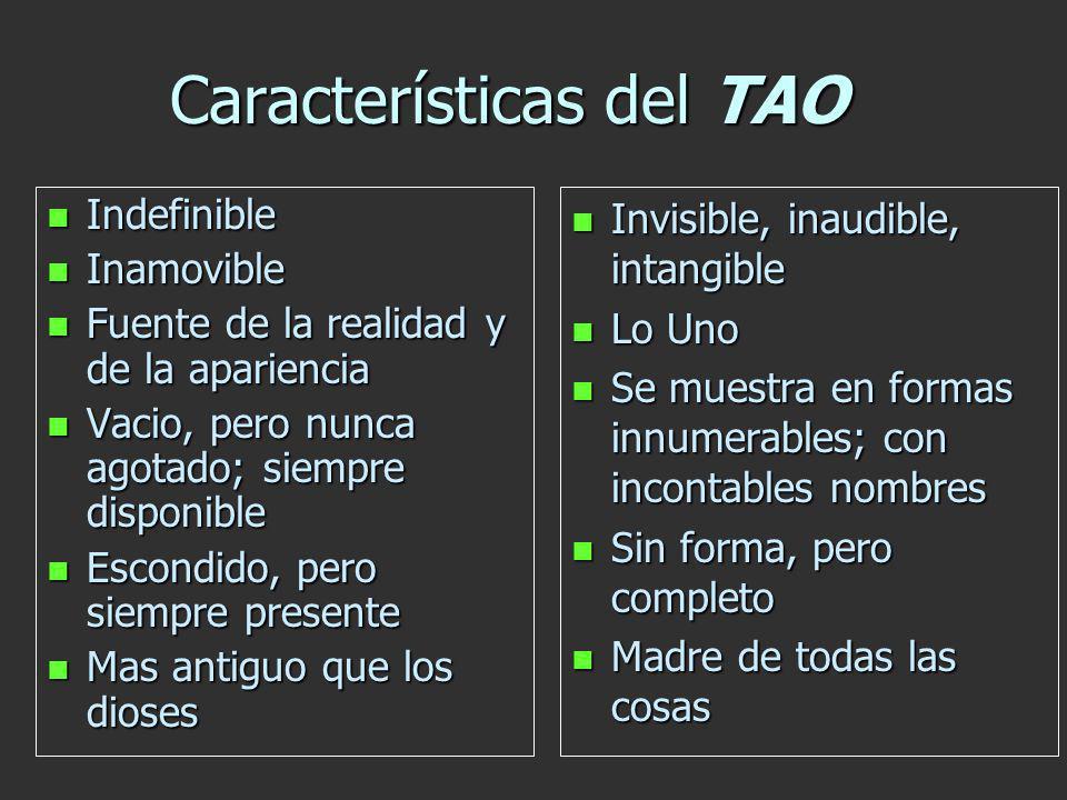 Características del TAO