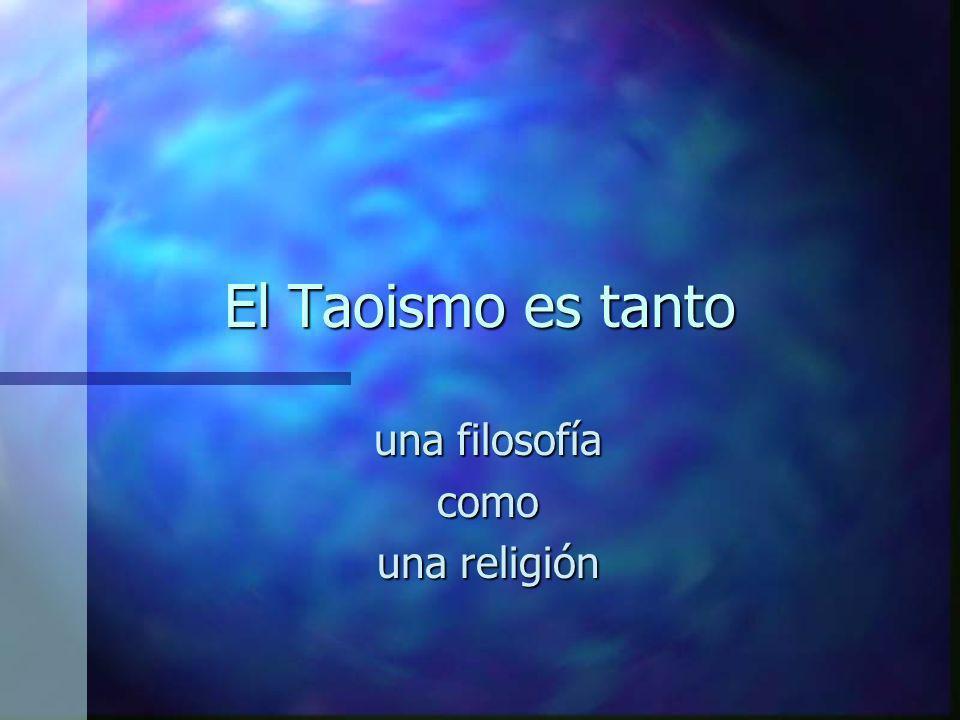 una filosofía como una religión