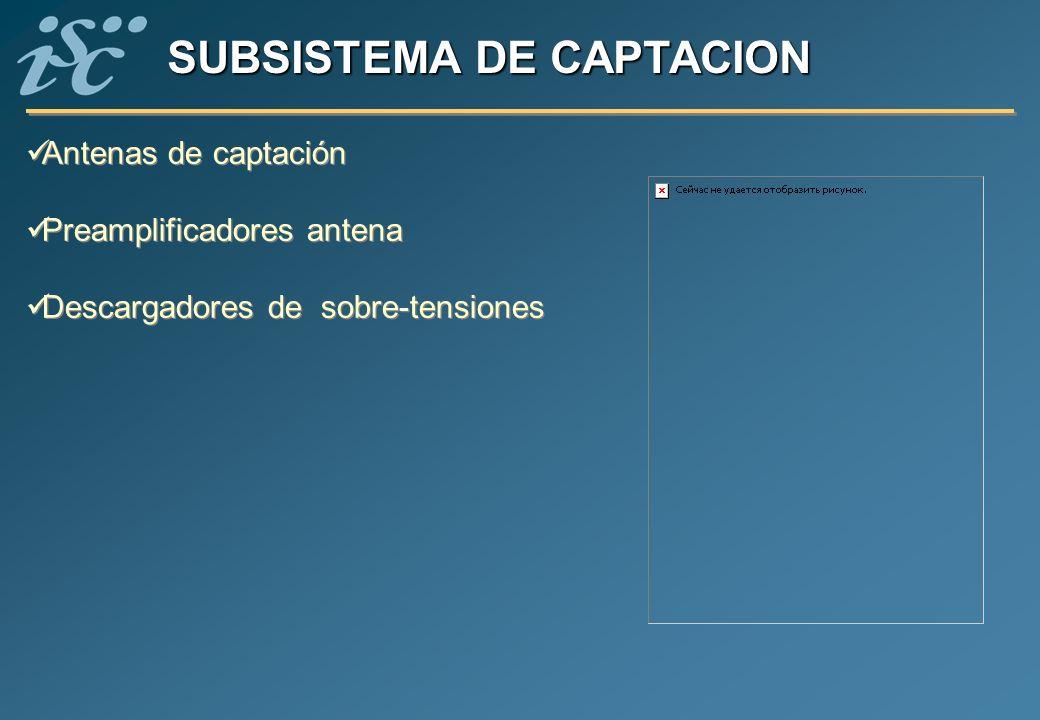 SUBSISTEMA DE CAPTACION