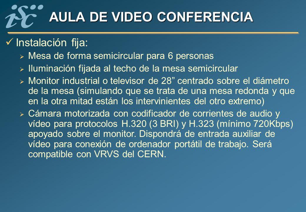 AULA DE VIDEO CONFERENCIA