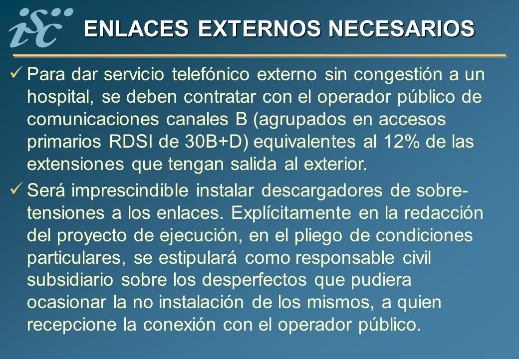 ENLACES EXTERNOS NECESARIOS