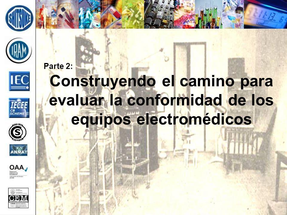 Parte 2: Construyendo el camino para evaluar la conformidad de los equipos electromédicos