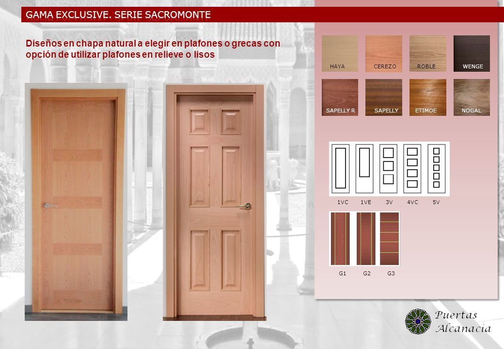 GAMA exclusive. SERIE SACROMONTE