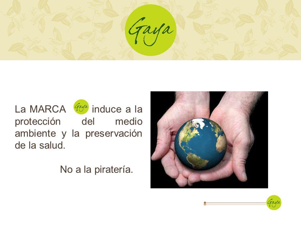 La MARCA induce a la protección del medio ambiente y la preservación de la salud.