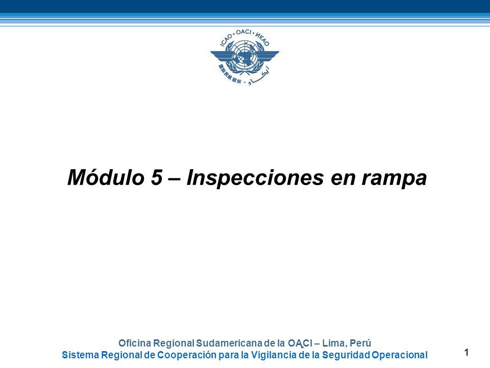 Módulo 5 – Inspecciones en rampa