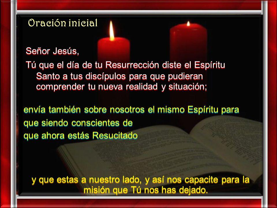 Oración inicial