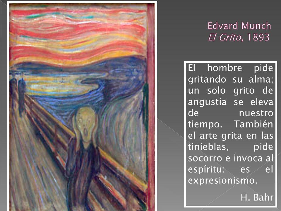 Edvard Munch El Grito, 1893