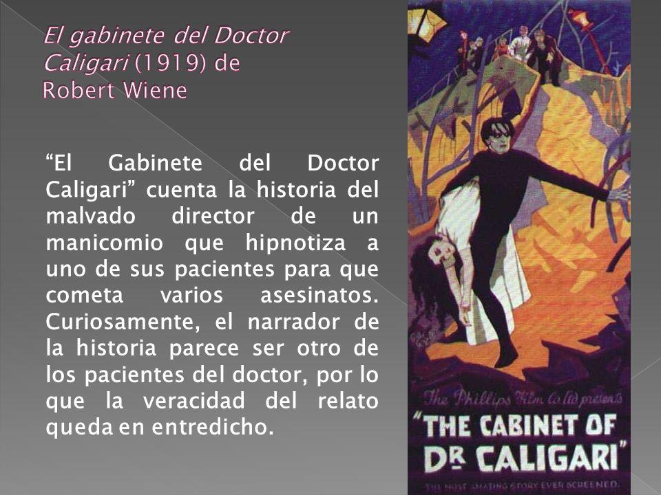 El gabinete del Doctor Caligari (1919) de Robert Wiene