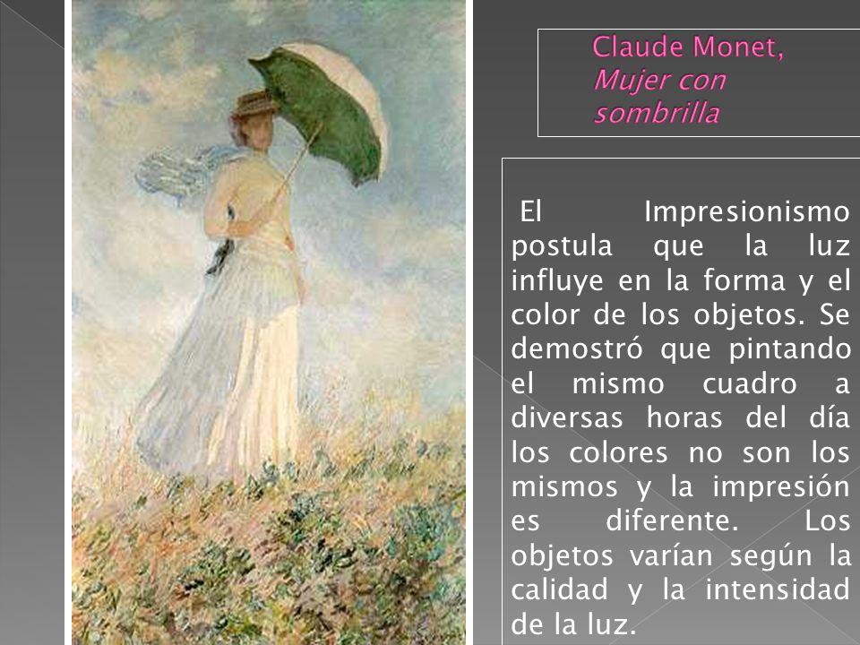 Claude Monet, Mujer con sombrilla