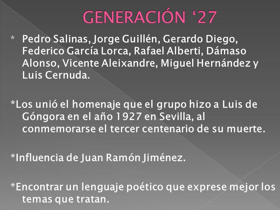 GENERACIÓN '27