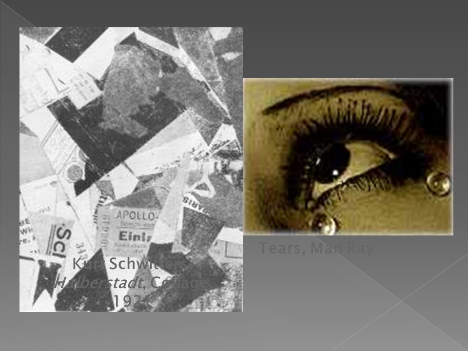 Kurt Schwitters, Halberstadt, Collage, 1921