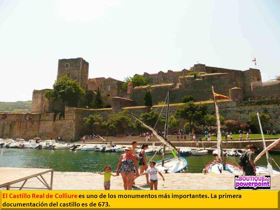 El Castillo Real de Colliure es uno de los monumentos más importantes