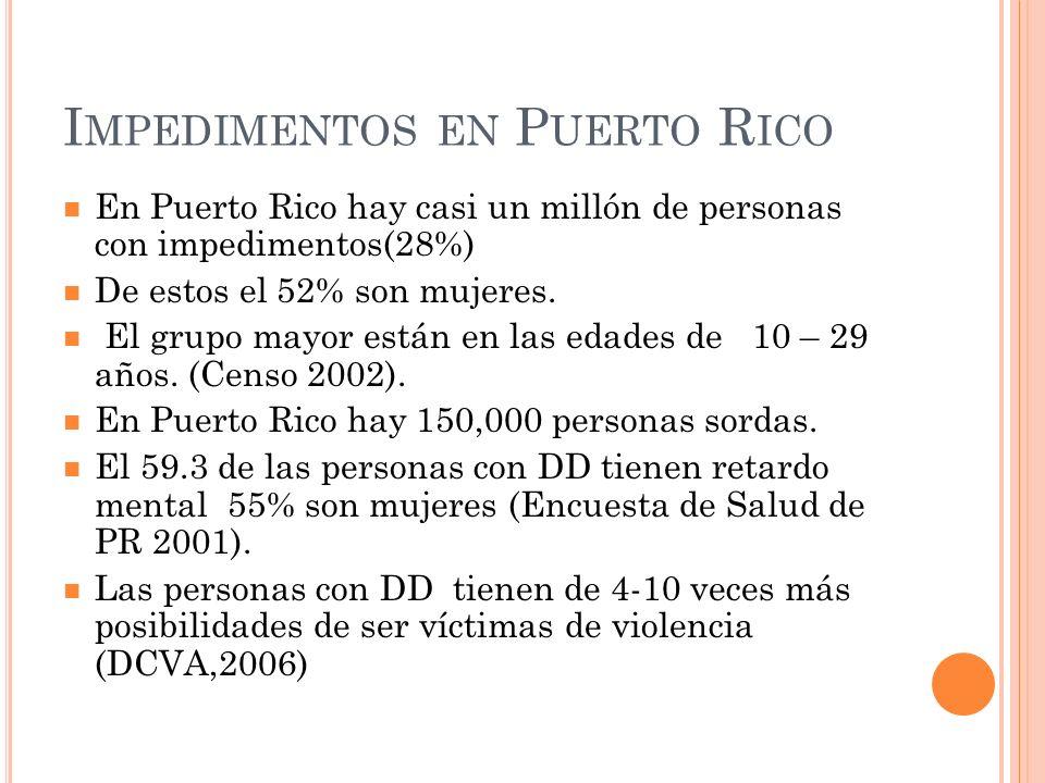 Impedimentos en Puerto Rico