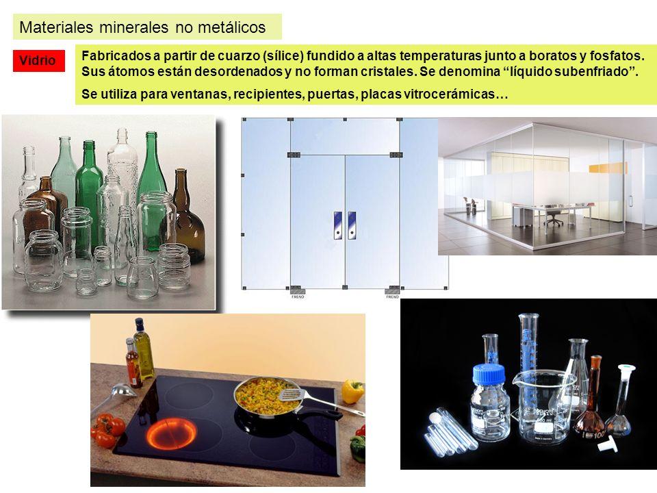 Materiales minerales no metálicos
