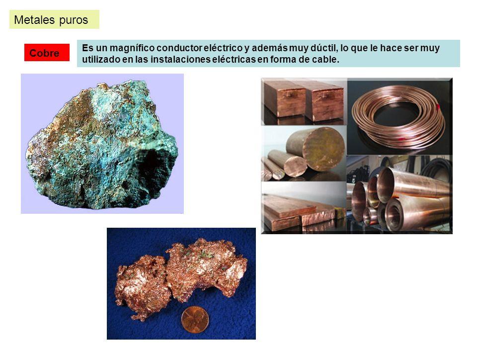 Metales puros