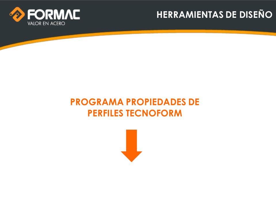 HERRAMIENTAS DE DISEÑO PROGRAMA PROPIEDADES DE