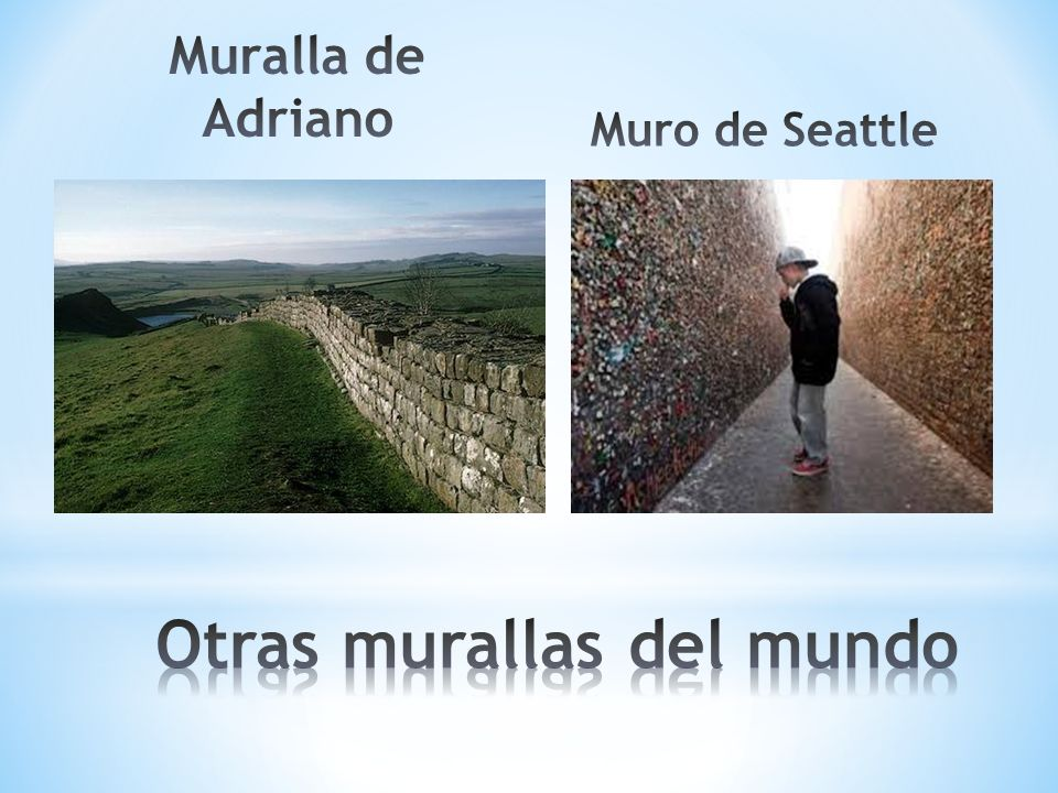 Otras murallas del mundo