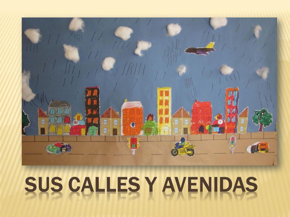 SUS CALLES Y AVENIDAS