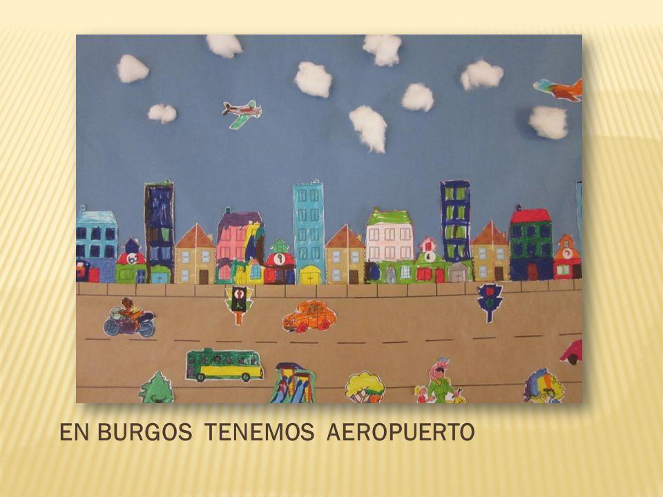 EN BURGOS TENEMOS AEROPUERTO
